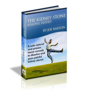 The Kidney Stone Removal Report by Joe Barton