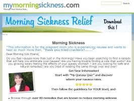 Treatments for Morning Sickness