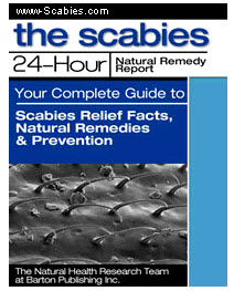 Scabies 24 Hour Natural Remedy